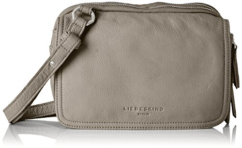 Liebeskind Berlin Maike7 Vintag, Women's Cross-Body Bag, Grau (Storm Grey), 10x16x23 cm (B x H T)