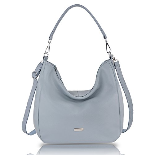 Fanspack Women's Hobo Handbags PU Leather Top Handle Tote Bag Large Capacity Crossbody Shoulder Bag Purse