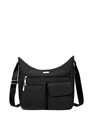 Baggallini Everywhere Travel Crossbody Bag, Black