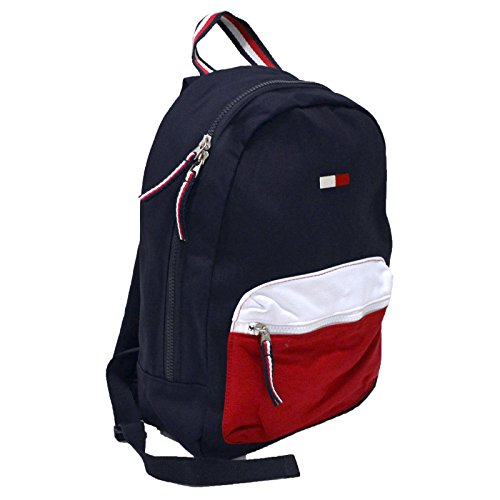 Tommy Hilfiger Small Flag Logo Canvas Backpack