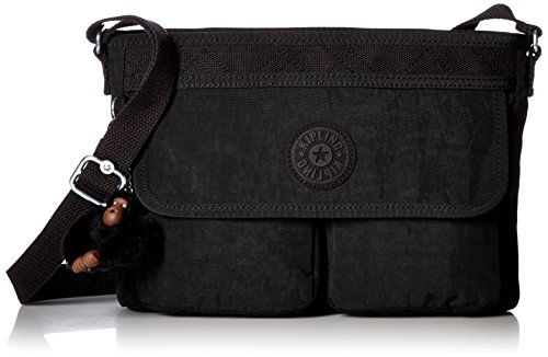 Kipling Angie Solid Convertible Crossbody Bag, Black