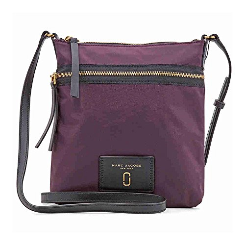 Marc Jacobs Biker Nylon Crossbody- Dark Violet