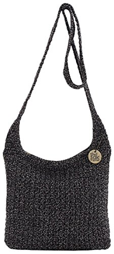 THE SAK Speckled Riveria Crossbody Handbag One Size Dark grey