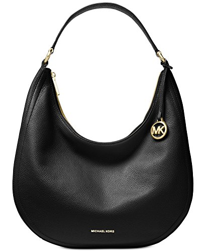 Michael Kors Lydia Large Leather Hobo Shoulder Bag