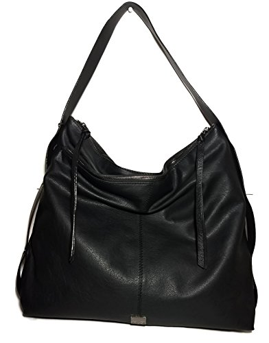 KOOBA Large Black Stratford Hobo Handbag GK1354