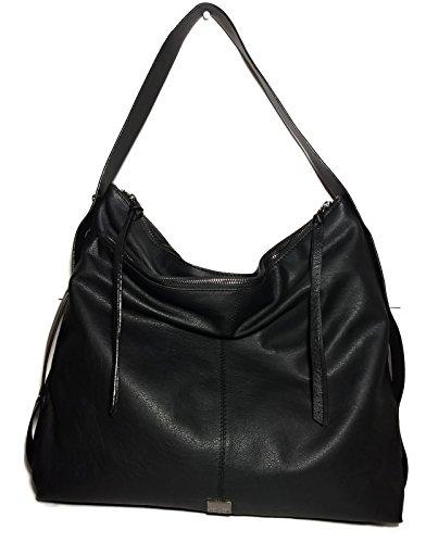 KOOBA Large Black Stratford Hobo Handbag GK1354