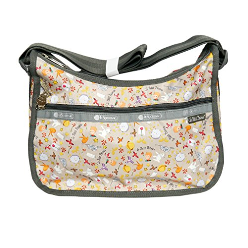 LeSportsac Crossbody Le Petite Prince Classic Hobo Handbag in External Things
