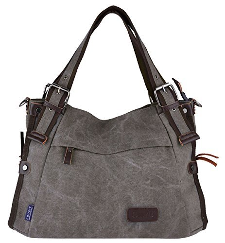 Retro Hobo Style Women's Canvas Casual Handbag Shoulder Bag Messenger Bag Purse