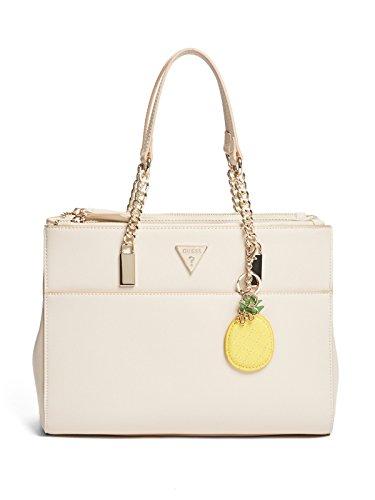 GUESS Factory Women's Valeria Chain Satchel Bag Handbag