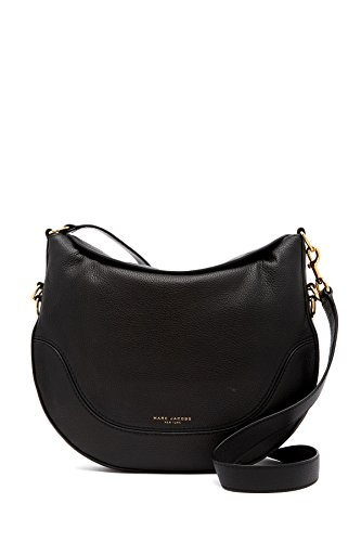 Marc Jacobs The Drifter Leather Crossbody Bag Black