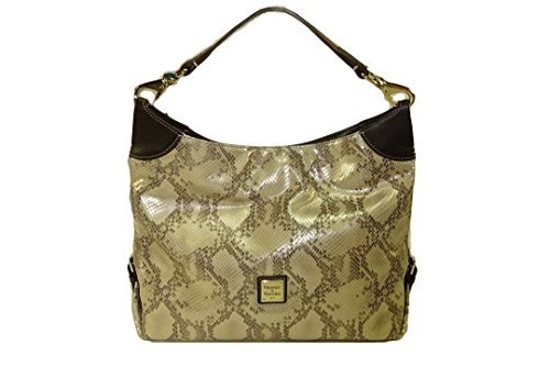Dooney & Bourke Medium Satchel Pewter EF196PW