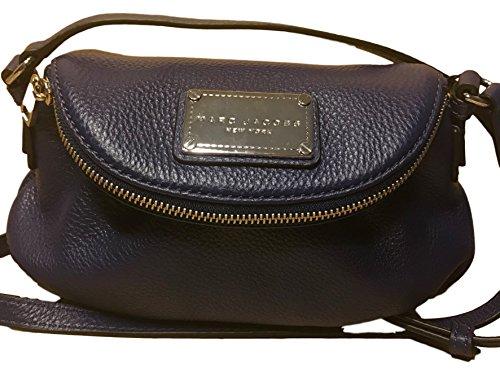 Marc Jacobs Blue Print Natasha Classic Q Leather Crossbody M0011309