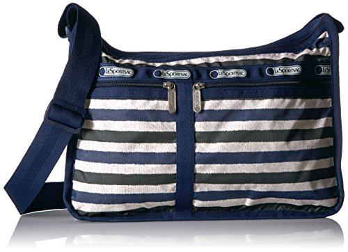 LeSportsac Classic Deluxe Everyday Bag, Cotton Stripe