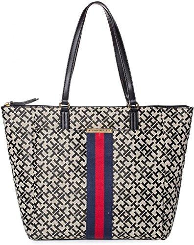 Tommy Hilfiger Women's Eve II Large Tote Bag Handbag