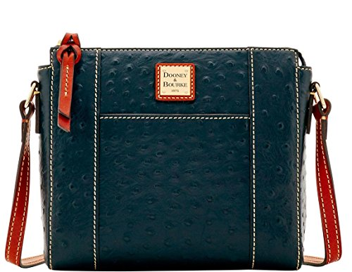 Dooney & Bourke Ostrich Lexington Crossbody Black