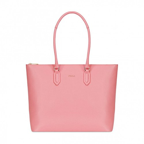 Furla Pin Leather Shoulder Bag, Rosa Quarzo