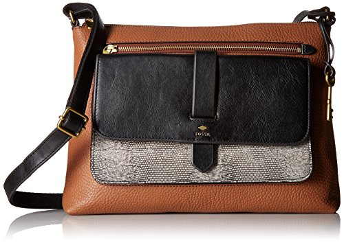 Fossil Kinley Crossbody Bag, Neutral Multi