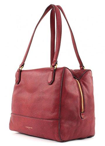 Liebeskind Berlin Mesa Milano Gang Wine Leather Shoulder Bag