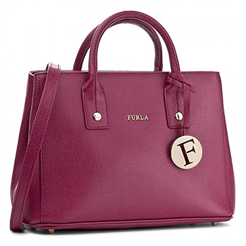 Furla Women's Linda Medium Satchel Saffiano Bag