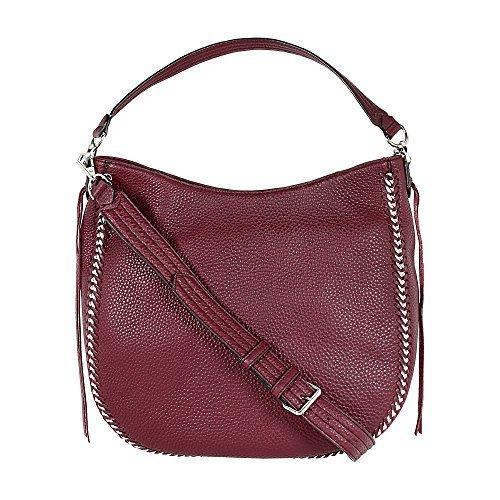 Rebecca Minkoff Unlined Ladies Medium Leather Hobo Handbag HF17EICH32