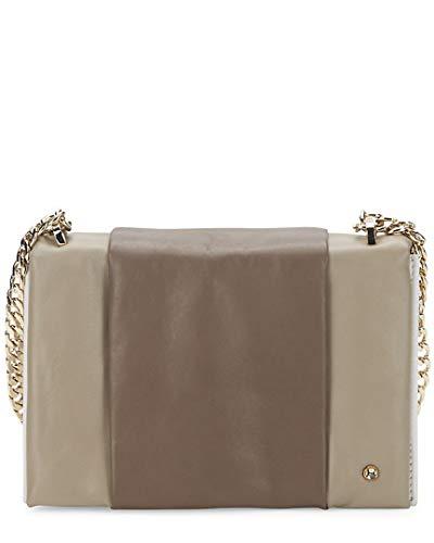 Halston Heritage Colorblock Mini Leather Shoulder Bag