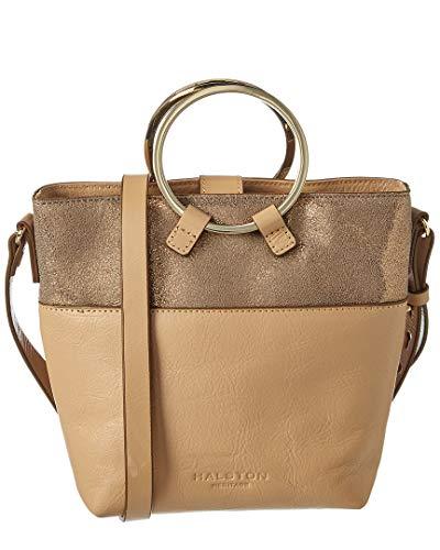 Halston Heritage Small Bucket Leather Crossbody