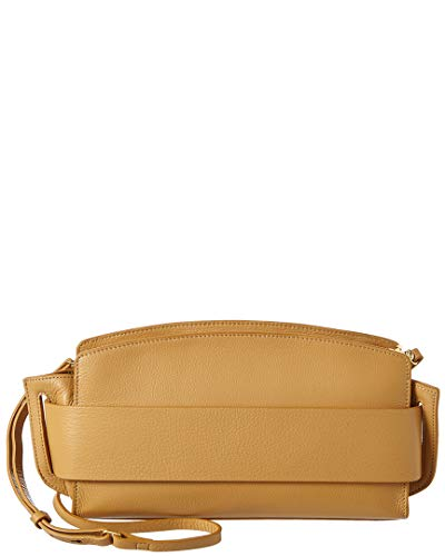 Halston Heritage Large Convertible Leather Clutch