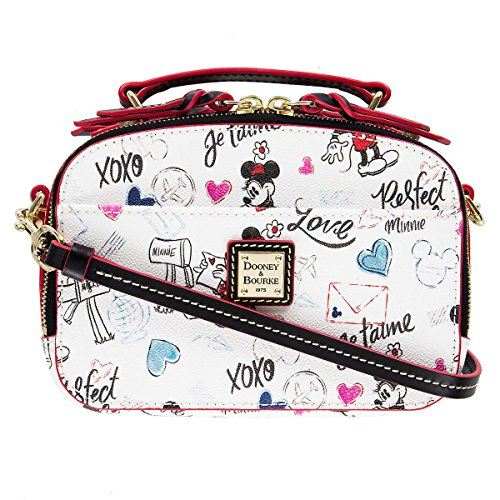 Disney Mickey and Minnie Sweethearts Ambler Crossbody Bag by Dooney & Bourke