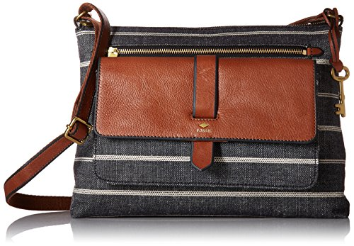 Fossil Kinley Crossbody Bag, Chambray,One Size