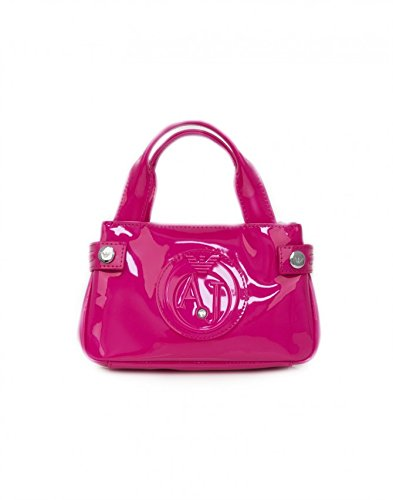 Armani Jeans Mini Bag, fuxia coloured min bag – SIZE (cm) : W.20 H.12 D.6