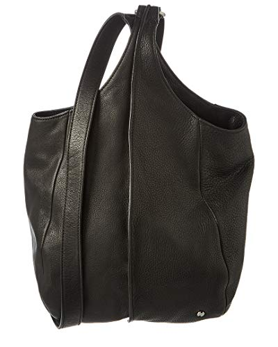 Halston Heritage Drawstring Leather Crossbody