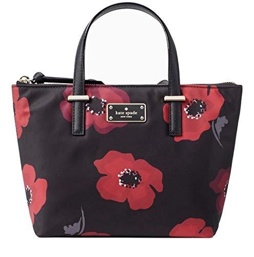 Kate Spade Poppy Wilson Road Adalyn Handbag Multi Nylon Small