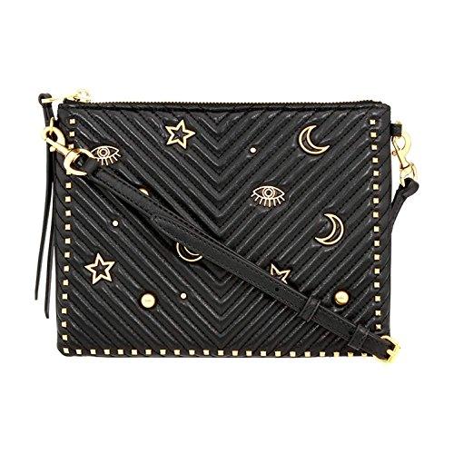 Rebecca Minkoff Jon Ladies Small Quilted Leather Crossbody Handbag SS18SCSX10001