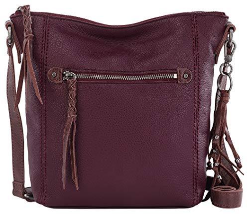 THE SAK Ashland Cabernet Crossbody Handbag One Size Wine red