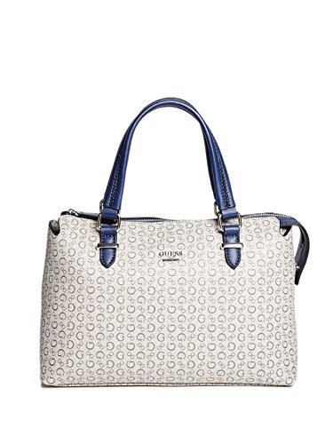 GUESS Factory Women's Wonderful Logo Satchel Bag Handbag