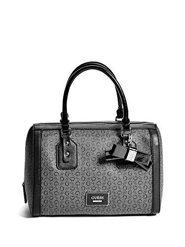 GUESS Factory Women's Burnley Faux-Leather Logo Box Satchel Bag Handbag