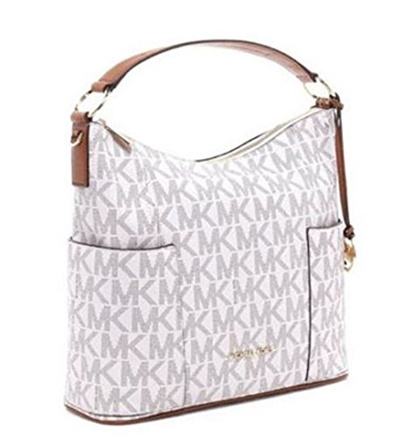 Michael Kors Anita Large Convertible Shoulder Bag (Vanilla)