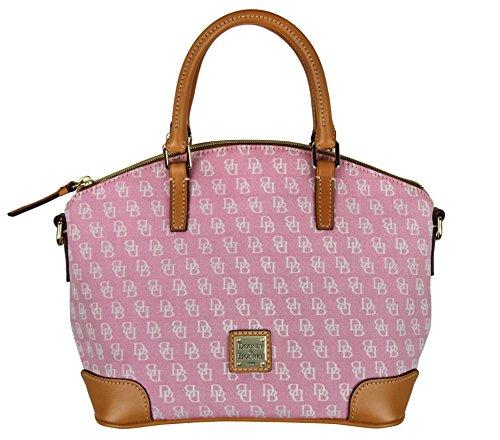 Dooney & Bourke Womens Top Handle Charlie Satchel Handbag – Hot Pink