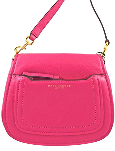 Marc Jacobs Empire City Mini Begonia Messenger Leather Crossbody Bag