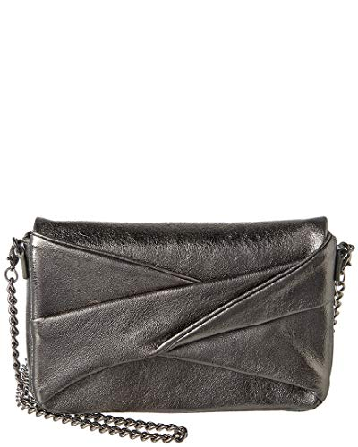 Halston Heritage Grace Small Box Convertible Leather Clutch