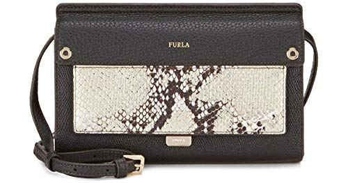 Furla Like Mini Snake Cross-Body Bag Onyx/Black + Color