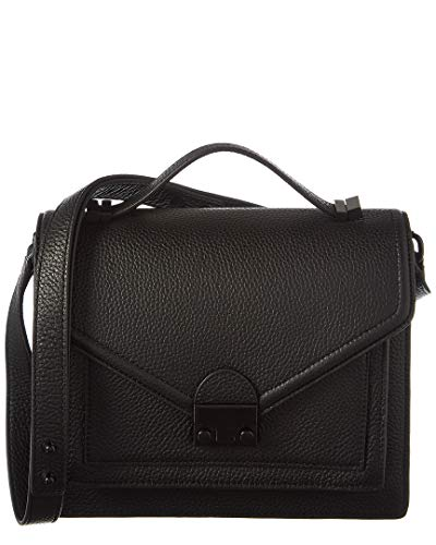 Loeffler Randall Medium Rider Leather Satchel, Black