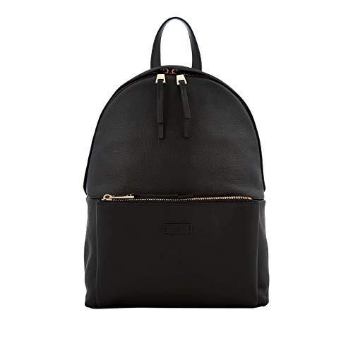 Furla Women's Giudecca Black Leather Small Backpack