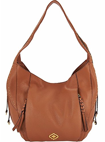 orYANY Pebble Leather Veronica Hobo, Saddle