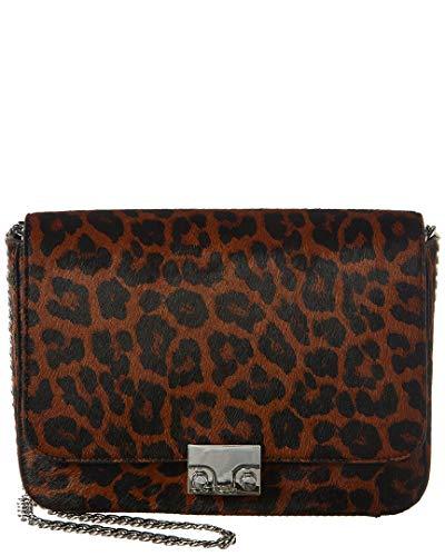 Loeffler Randall Lock Haircalf Shoulder Bag, Brown