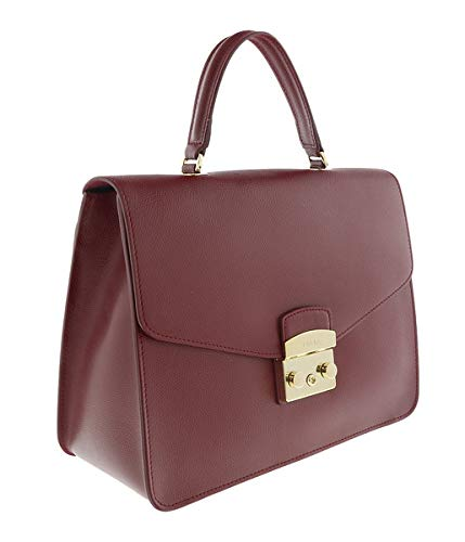 FURLA METROPOLIS BOO9 Maroon Top handle Bag for Womens