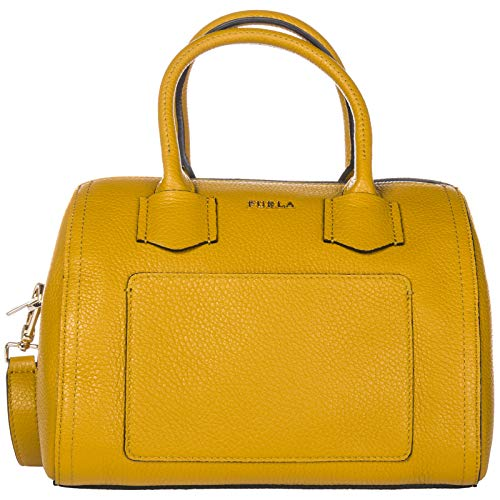 Furla women's handbag cross-body messenger bag purse Alba yellow