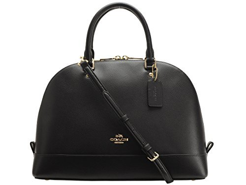 Coach Crossgrain Sierra Satchel – Black