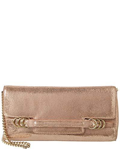 Halston Heritage Leather Clutch