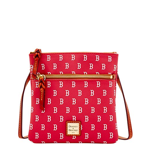 Dooney & Bourke Boston Red Sox Crossbody Purse-White Retail NWT